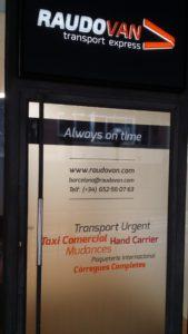 Always on time Trasporte urgente